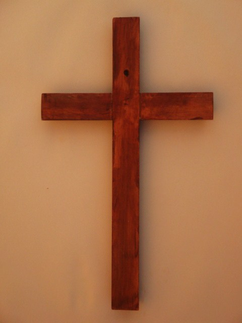 Antique Pine Wood Wall Cross From Wood Wall Crosses Com