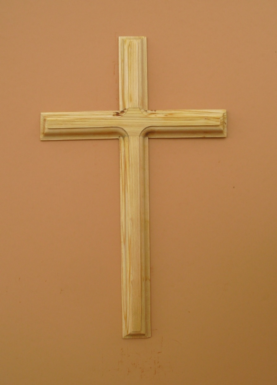 Cypress Wood Wall Cross From Wood Wall Crosses Com